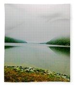 Long Pond Morning Fleece Blanket