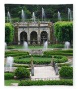 Longwood Fountains Fleece Blanket