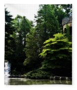 Longwood Garden Castle Fleece Blanket