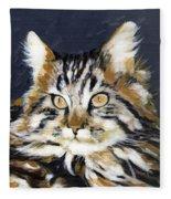 Looking At Me? Fleece Blanket