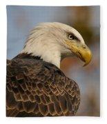 Looking Fleece Blanket