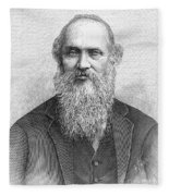 Lord Kelvin (1824-1907) Fleece Blanket