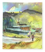 Los Olmos De Penafiel In Spain 01 Fleece Blanket