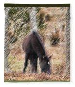 Lost In The Woods Fleece Blanket