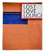 Lost Love Lounge Fleece Blanket