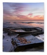 Lost Sailors Fleece Blanket
