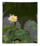 Lotus 2 Fleece Blanket