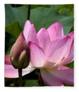 Lotus Bud--here Is How You Do It Dl065 Fleece Blanket