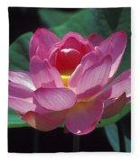 Lotus--secrets Within 24k Fleece Blanket