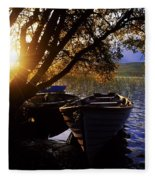 Lough Arrow, Co Sligo, Ireland Lake Fleece Blanket