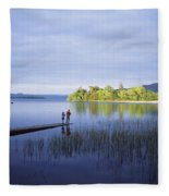 Lough Gill, Co Sligo, Ireland Fleece Blanket