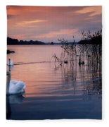Lough Leane, Killarney National Park Fleece Blanket