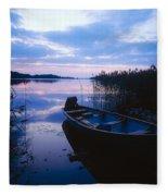 Lough Leane, Lakes Of Killarney, Co Fleece Blanket