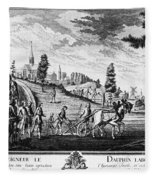 Louis, Dauphin Of France Fleece Blanket