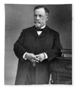 Louis Pasteur, French Chemist Fleece Blanket