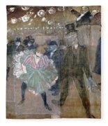 Louise Weber (1866-1929) Fleece Blanket