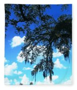 Louisiana Skyscape Fleece Blanket