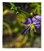Louisiana Wildflower Fleece Blanket