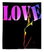 Love And Shadows Fleece Blanket