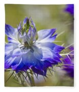 Love In The Mist - Nigella Fleece Blanket