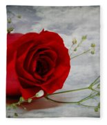 Love Is Everlasting Fleece Blanket