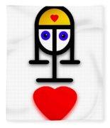 Love U Kid Fleece Blanket