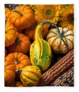 Lovely Autumn Fleece Blanket