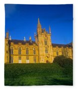 Low Angle View Of A Building, Magee Fleece Blanket