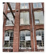 Lowe Mill Art Studios Huntsville Alabama Usa Fleece Blanket