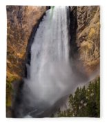 Lower Falls II Fleece Blanket