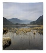 Lower Lake, Glendalough, County Fleece Blanket