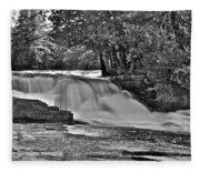 Lower Tahquamenon Falls 6140b Fleece Blanket
