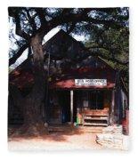 Luckenbach Texas - II Fleece Blanket