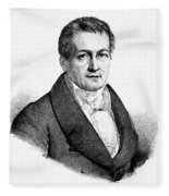 Ludwig Tieck (1773-1853) Fleece Blanket