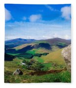 Luggala, Co Wicklow, Ireland Fleece Blanket