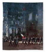 Luks - Blue Devils 1918 Fleece Blanket