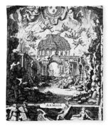 Lully: Armide, 1686 Fleece Blanket
