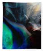 Lunar Radiation Fleece Blanket