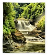 Lush Lower Falls Fleece Blanket