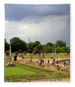 Luxembourg Gardens Fleece Blanket