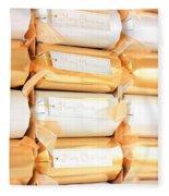 Luxury Christmas Crackers Fleece Blanket