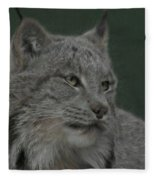 Lynx Painterly Fleece Blanket