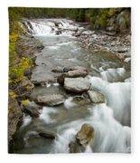 Macdonald Creek Fleece Blanket