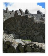Machu Picchu Peru 12 Fleece Blanket
