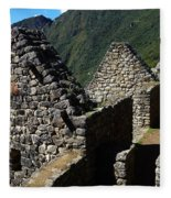 Machu Picchu Peru 8 Fleece Blanket