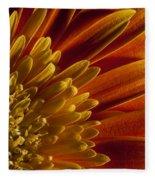 Macro Blumen Fleece Blanket