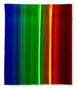 Macro Bromine Spectra Fleece Blanket