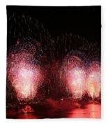 Macy's Fireworks On The Hudson Fleece Blanket