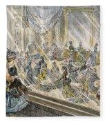 Macys Holiday Display, 1876 Fleece Blanket