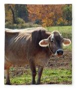 Mad Cow Tail Swish Fleece Blanket